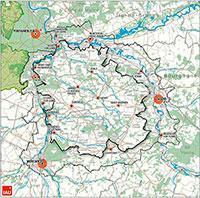Parc naturel regional plan