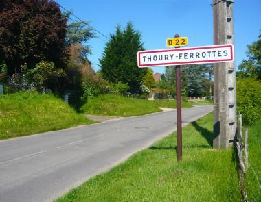 Commune Thoury-ferrottes